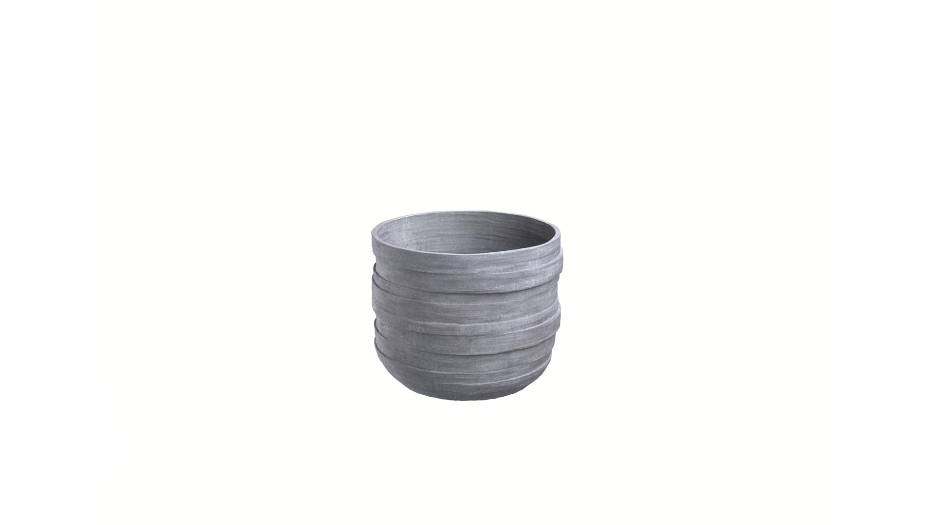 pflanzk bel rund beton wetterfest in drei farben erch ltlich. Black Bedroom Furniture Sets. Home Design Ideas