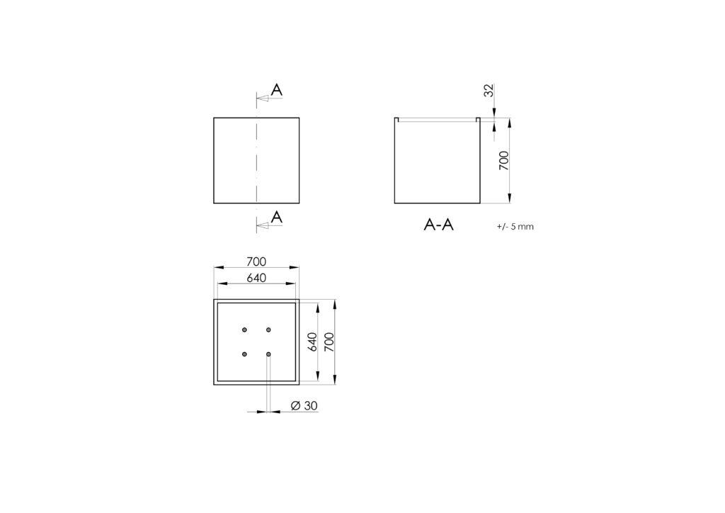 Technisches Zeichnen - Cubi 3