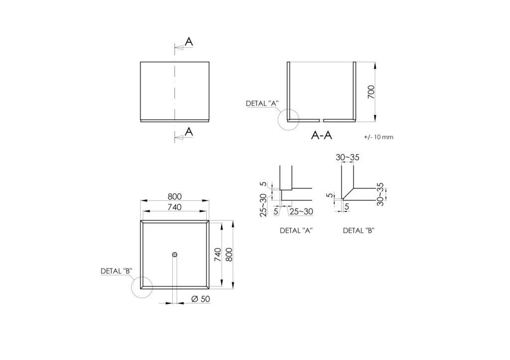 Technisches Zeichnen - Monica