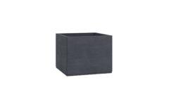 beton pflanzkübel rechteckig model alice schwarz