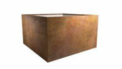 blumenkübel rost model cubi 8