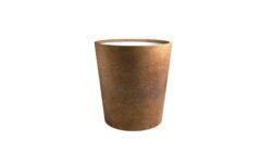 pflanzgefäße metall rost model vaso 6