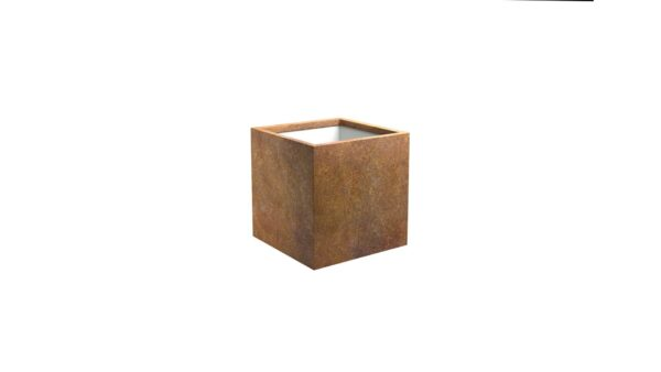 pflanzkübel corten model cubi 1