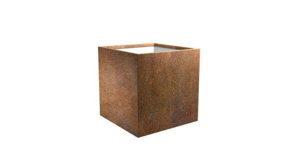 pflanzkübel cortenstahl model cubi 3