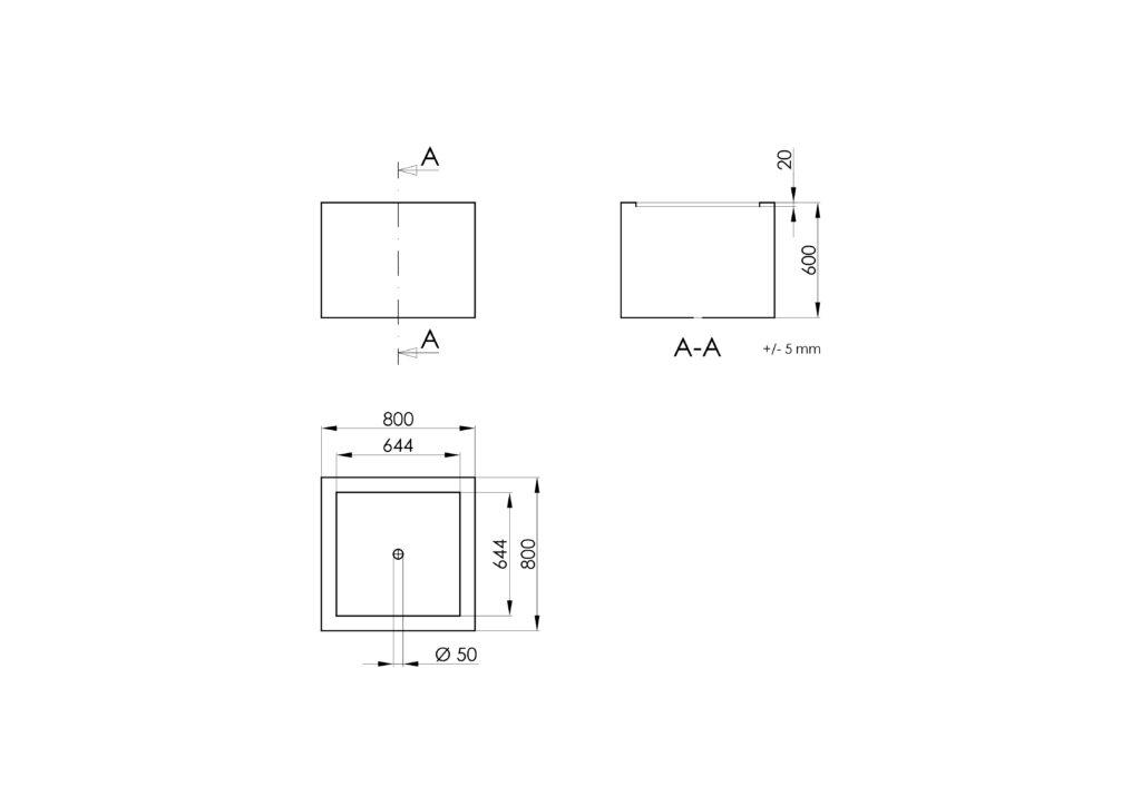 Technisches Zeichnen - Antonio 5
