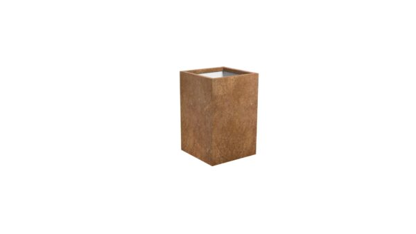 pflanzkübel corten model cubi 13
