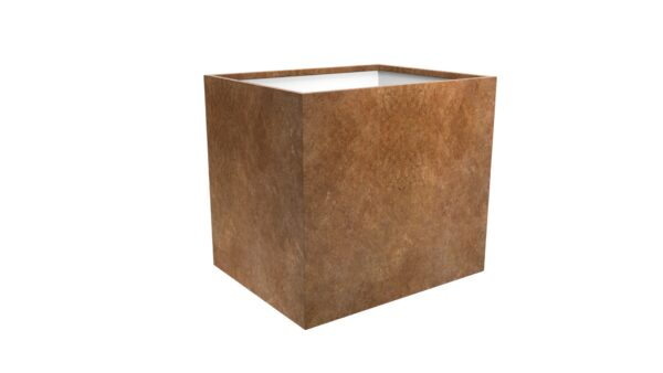 pflanzkübel corten model cubi 16