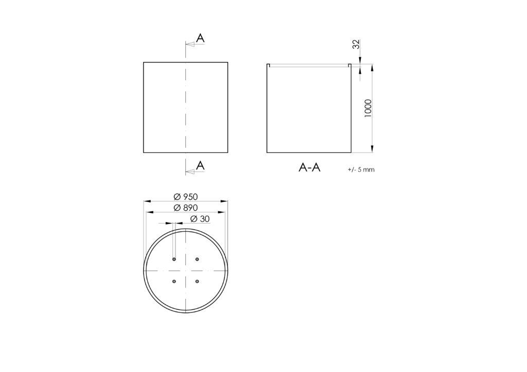 Technisches Zeichnen - Vaso 3