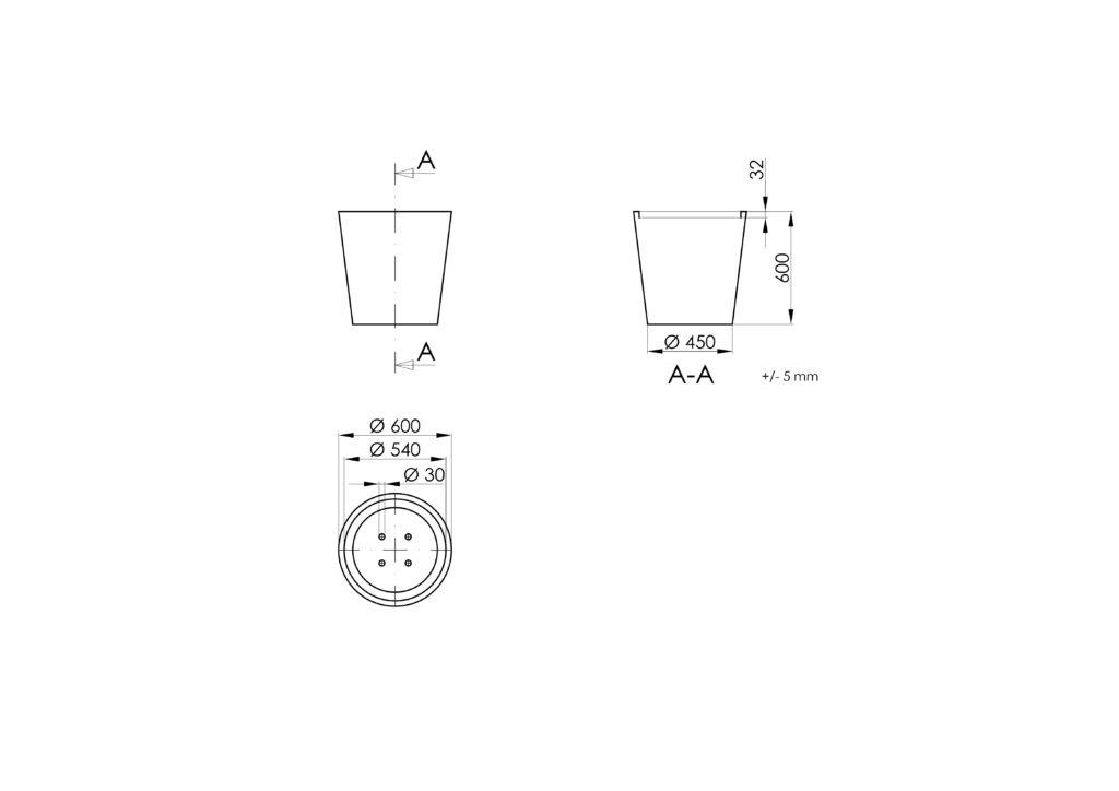 Technisches Zeichnen - Vaso 4